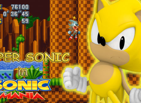 Sonic Mania: uno sguardo in video gameplay a Super Sonic, dopo la raccolta dei Chaos Emeralds