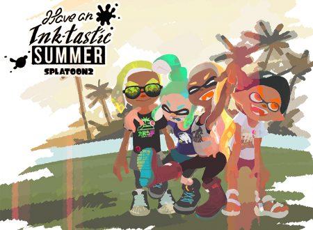 Splatoon 2: disponibili wallpaper estivi, video speedrun della modalità Storia