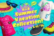 Splatoon 2: i gear della Summer Vacation Collection, disponibili da domani sullo SplatNet 2
