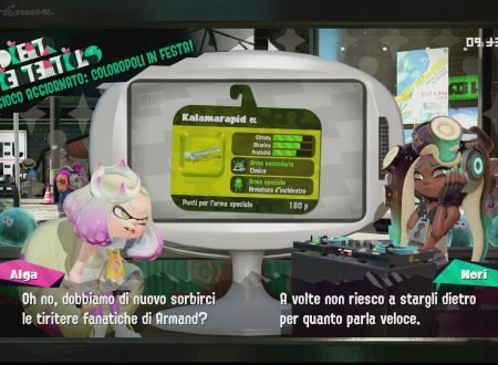 Splatoon 2: primo sguardo in video al Kalamarapid α, ora disponibile nel titolo