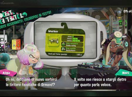 Splatoon 2: uno sguardo veloce al Marker, ora disponibile all'interno del gioco
