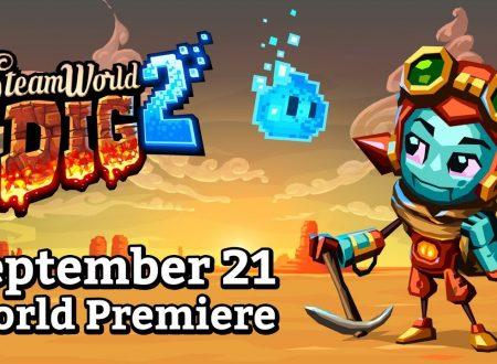 Steamworld Dig 2: il titolo di Image & Form è in arrivo il 21 settembre su Nintendo Switch