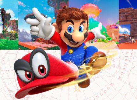 Super Mario Odyssey: Nintendo cambia la boxart, inserendo un artwork di una sezione Marina, eliminato il Sombrero
