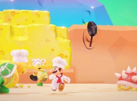 Super Mario Odyssey: il Regno dei Fornelli mostrato nella diretta di Nintendo al Gamescom 2017