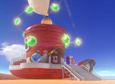 Super Mario Odyssey: il nuovo titolo 3D di Mario non avrà un hub world centrale