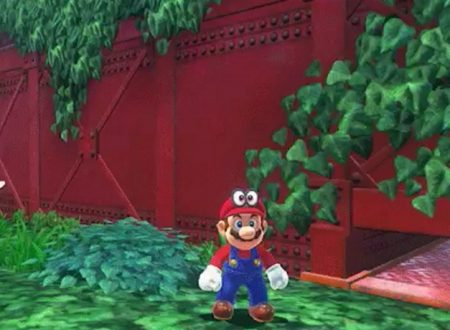 Super Mario Odyssey: mostrata l'animazione di accovacciamento di Mario nel gioco