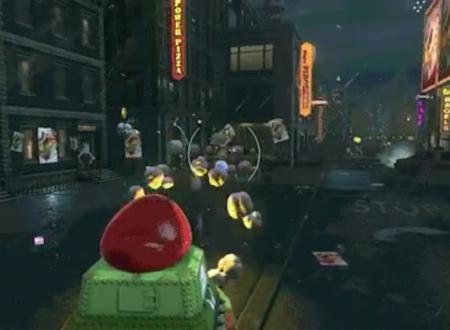 Super Mario Odyssey: un sguardo in video al carro armato cap-turato da Mario nel gioco