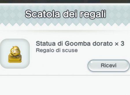 Super Mario Run: disponibili tre statue di Goomba dorato come risarcimento da Nintendo