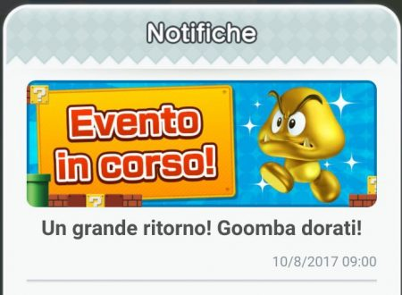 Super Mario Run: l'evento dei Goomba dorati ritorna all'interno del titolo mobile