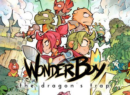 Wonder Boy: The Dragon's Trap: il titolo è in arrivo il 13 febbraio in formato retail su Nintendo Switch