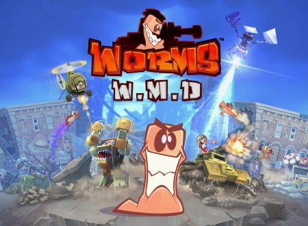 Worms W.M.D: i leggendari vermi combattenti in arrivo su Nintendo Switch