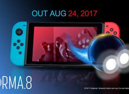 forma.8: il titolo indie italiano in arrivo il 24 agosto sui Nintendo Switch europei