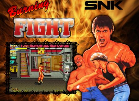 ACA NEO GEO Burning Fight: il titolo in arrivo il 28 settembre sui Nintendo Switch europei