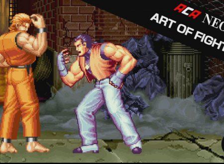 ACA NEOGEO ART OF FIGHTING: il titolo in arrivo il 21 settembre sui Nintendo Switch europei