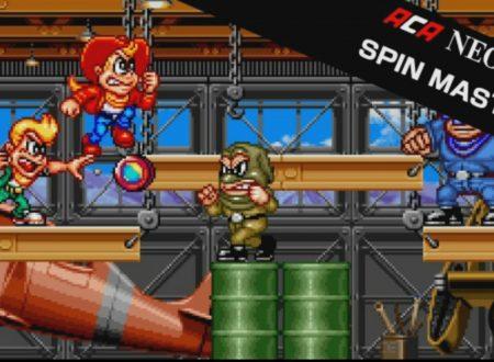ACA NEOGEO SPIN MASTER: il titolo in arrivo il 14 settembre sui Nintendo Switch europei