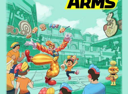 ARMS: l'account Twitter ha pubblicato un nuovo artwork dedicato a Lola Pop