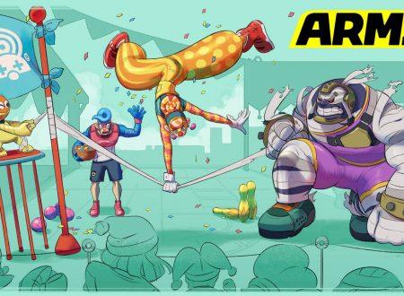 ARMS: postato un nuovo artwork ufficiale su Lola Pop in fase di esibizione