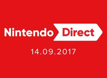 Nintendo Direct 14.09.2017: link e embed video della diretta streaming di mezzanotte