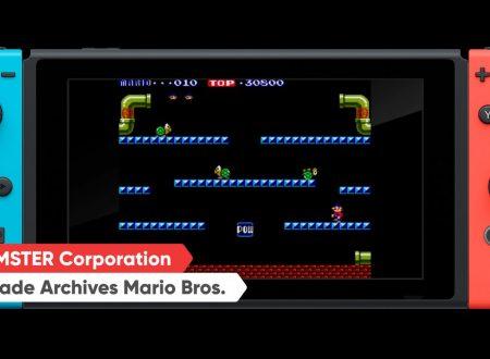 Arcade Archives Mario Bros.: il titolo in arrivo il 27 settembre su Nintendo Switch
