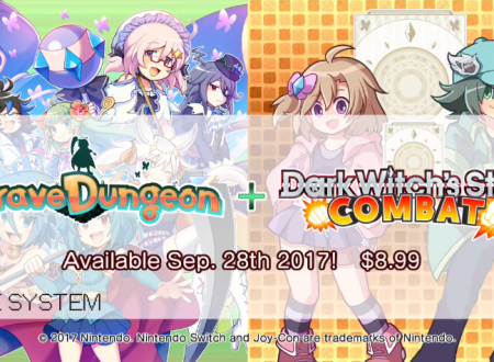 Brave Dungeon + Dark Witch's Story: Combat in arrivo il 28 settembre sui Nintendo Switch europei