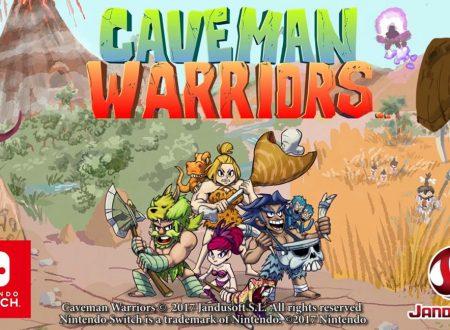 Caveman Warriors: il titolo annunciato ufficialmente per Nintendo Switch