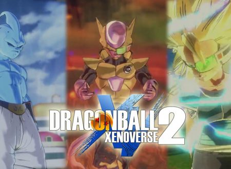 Dragon Ball Xenoverse 2: nuovo trailer europeo, svelato il filesize del titolo per Nintendo Switch