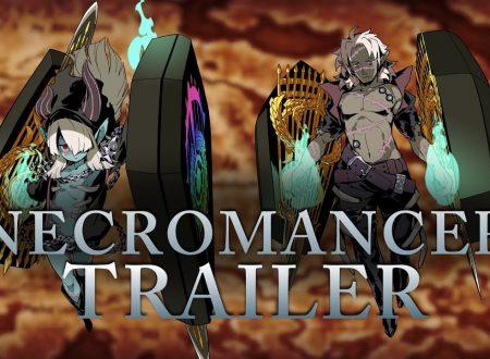 Etrian Odyssey V: Beyond The Myth, pubblicato il trailer sulla classe Necromancer