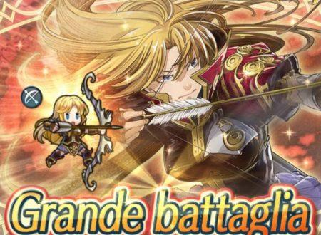 Fire Emblem Heroes: disponibile la Grande Battaglia, atto secondo di Clarisse