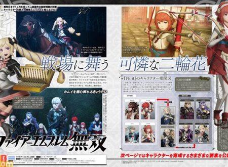 Fire Emblem Warriors: annunciata Sakura, come nuovo personaggio giocabile del roster