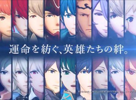 Fire Emblem Warriors: un video ci mostra tutte le intro dei 24 personaggi giocabili del titolo