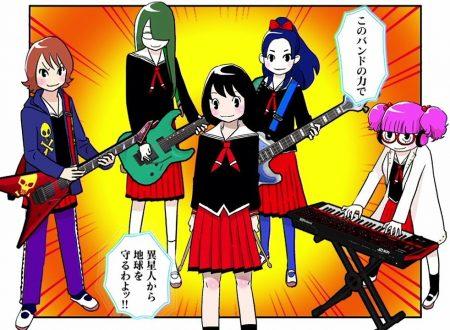 Gal Metal: il titolo rhythm game in arrivo l'8 febbraio sui Nintendo Switch giapponesi