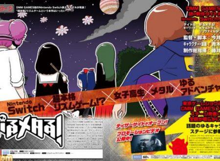 Garu Metal: il titolo rhythm game annunciato per l'arrivo su Nintendo Switch