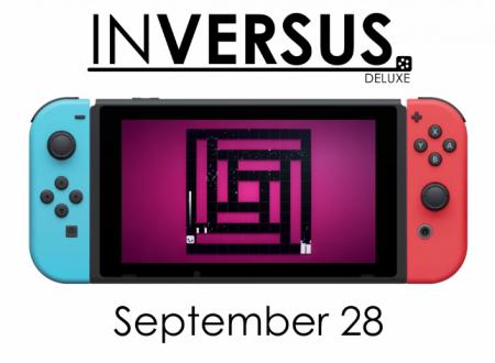 Inversus Deluxe: il titolo in arrivo il 28 settembre sui Nintendo Switch europei