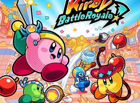 Kirby: Battle Royale: il titolo annunciato e in arrivo il 3 novembre sui 3DS europei
