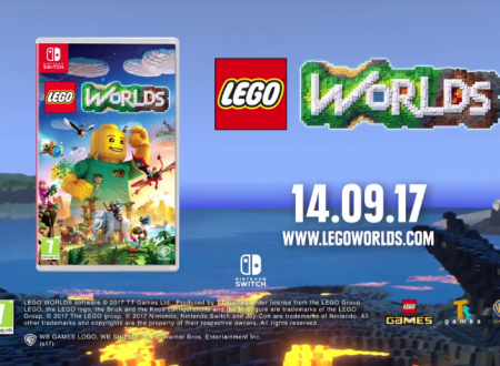 LEGO Worlds: pubblicato il trailer di lancio italiano del titolo per Nintendo Switch
