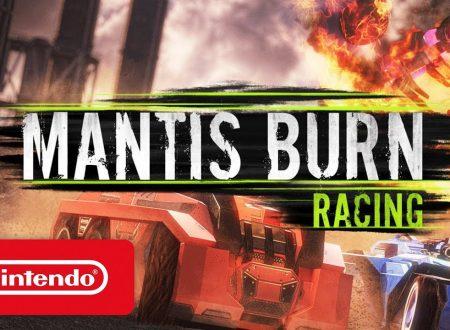 Mantis Burn Racing: pubblicato un teaser trailer del titolo in arrivo su Nintendo Switch