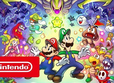 Mario & Luigi: Superstar Saga + Scagnozzi di Bowser: pubblicato il trailer di lancio italiano