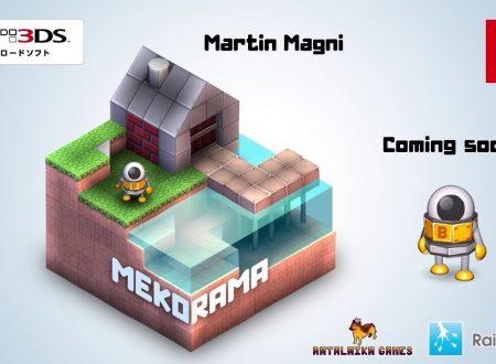 Mekorama: nuovo trailer per la versione Nintendo Switch del puzzle game