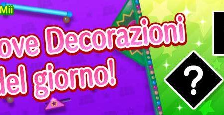 Miitomo: le nuove decorazioni del 28 settembre nel minigioco Sgancia Mii