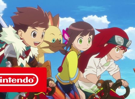 Monster Hunter Stories: Ride On, i primi due episodi dell'anime, ora su Youtube e sul Nintendo Anime Channel