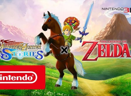 Monster Hunter Stories: il DLC di The Legend of Zelda in arrivo anche sui 3DS europei