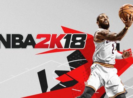 NBA 2K18: il titolo è stato ora aggiornato alla ver. 1.04 sui Nintendo Switch europei