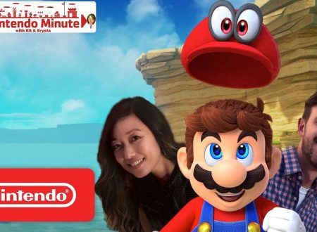 Nintendo Minute: il Regno del Mare di Super Mario Odyssey, in video con Kit e Krysta