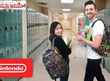 Nintendo Minute: il ritorno a scuola con oggetti Nintendo in giveaway con Kit e Krysta