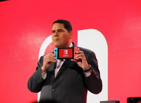 Nintendo Switch: Reggie Fils-Aime spiega la popolarità e il successo della console