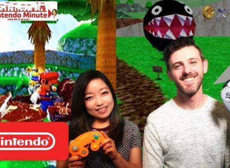 Nintendo Switch: uno sguardo al passato con Super Mario 64 e Super Mario Sunshine con Kit & Krysta