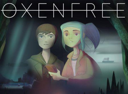 Oxenfree: il titolo ufficialmente in arrivo il 6 ottobre su Nintendo Switch