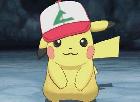 Pokémon Sole e Luna: ora disponibile il codice seriale del Pikachu con il Berretto originale di Ash