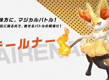 Pokkén Tournament DX: pubblicato un trailer giapponese dedicato a Braixen