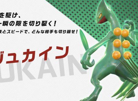 Pokkén Tournament DX: un nuovo trailer giapponese dedicato a Sceptile